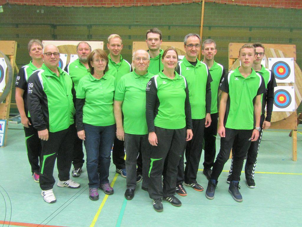 Bezirksmeisterschaft Bogen Halle 2017 Löhne