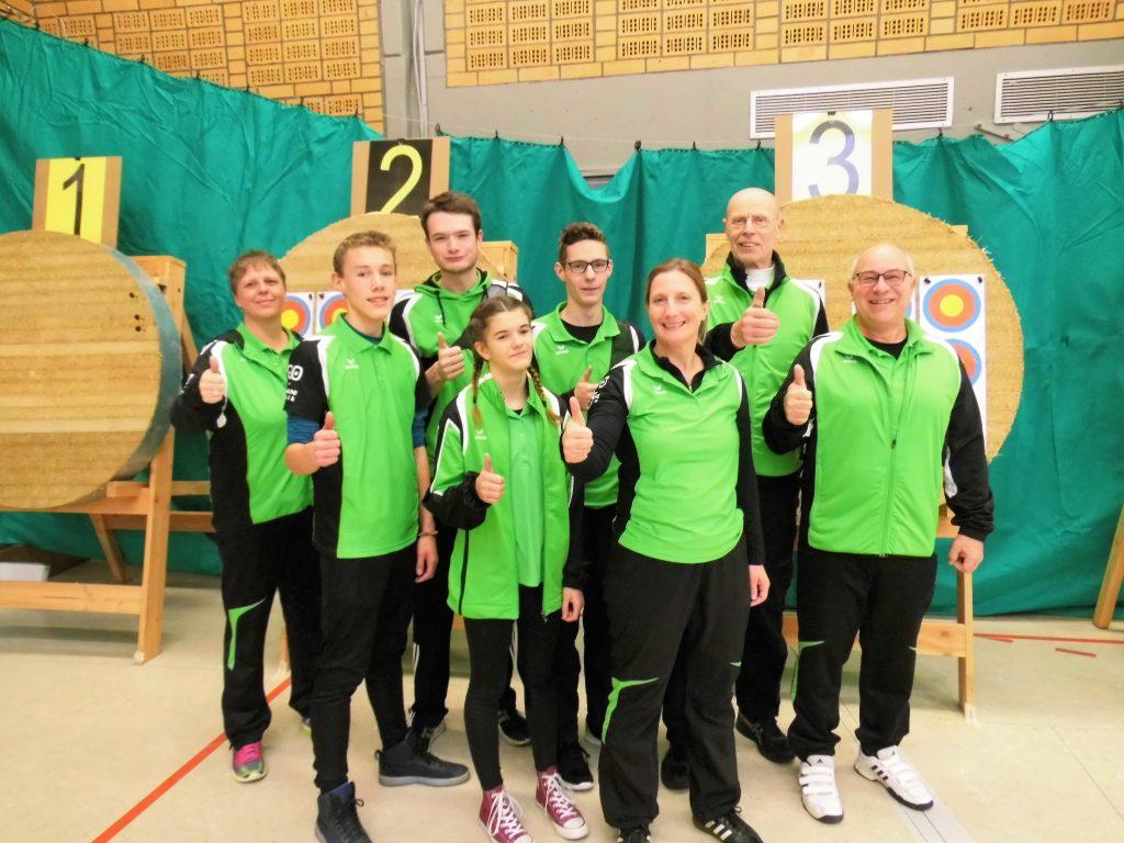 Bezirksmeisterschaft Bogen Halle 2017 WSB Bad Oeynhausen