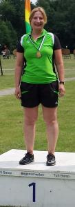 Landesmeisterin Claudia Büker